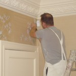 Gournay silk wall covering | Dumbreck Decorators