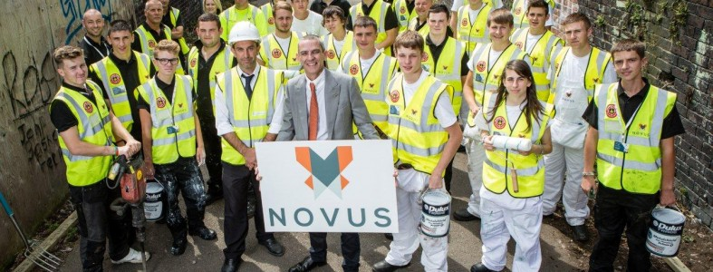 Novus Apprentice Community Challenge Day - Group with Stuart Seddon