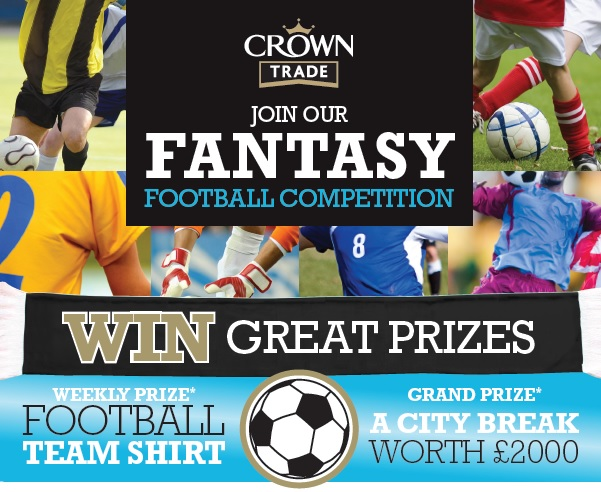 crown fantasy football logo