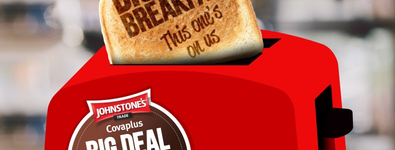 Johnstone's Covaplus Breakfast Promotion