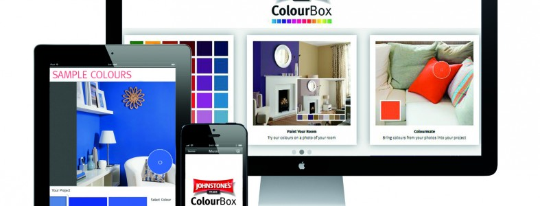 Johnstone's Trade - Online ColourBox tool
