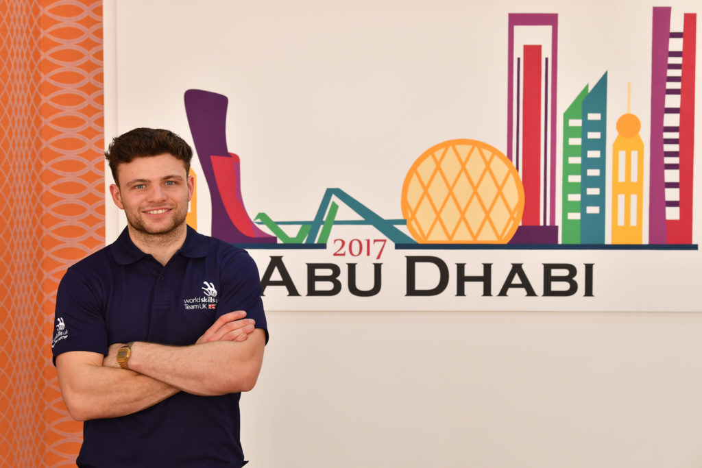 Team UK WorldSkills Abu Dhabi 2017 Competition Day 4